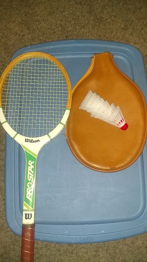 ProStar Wilson tennis racket the real deal for Sale in Cleveland, OH
