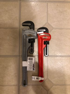 Rigid pipe wrench for Sale in Brentwood, TN