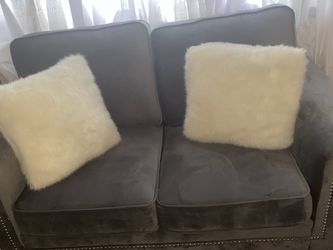 Grey sofa & Love Seat for Sale in Clifton Heights,  PA