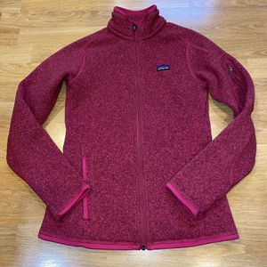 Patagonia Better Sweater Women XS Pink Jacket for Sale in Portland, OR