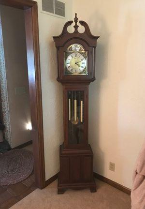Beautiful Barwick grandfather clock for Sale in Morton, IL