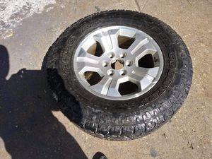 2017 Chevy Silverado rines for Sale in McKinney, TX
