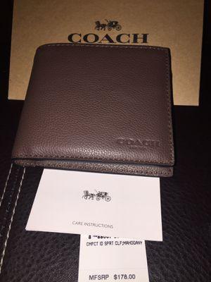 Men's Coach Wallet for Sale in Fullerton, CA
