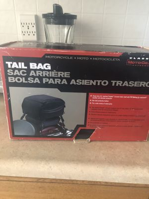 MotoGear Tail Bag for Sale in Jersey City, NJ