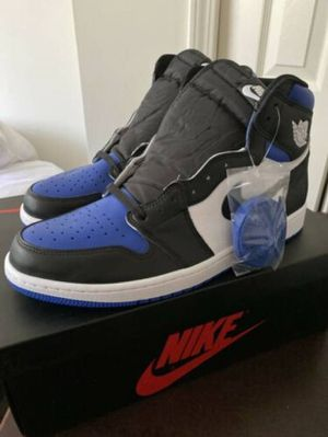 Jordan 1 royal toe for Sale in Lynn, MA