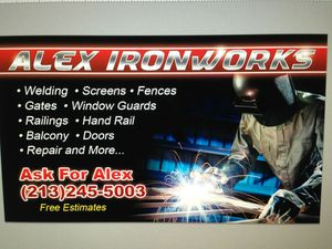 Iron works precios bajos estimados gratis for Sale in Vernon, CA