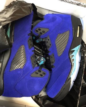 Size 9.5 Air Jordan 5 Retro Alternate Grape for Sale in Culver City, CA