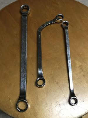 Cornwell Metrics Double Box Wrenches ( 10-11, 12-13, 16-17 ) Same like Snap On Tools for Sale in Fullerton, CA