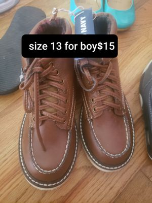 Boy shoes size 13 for Sale in Seattle, WA