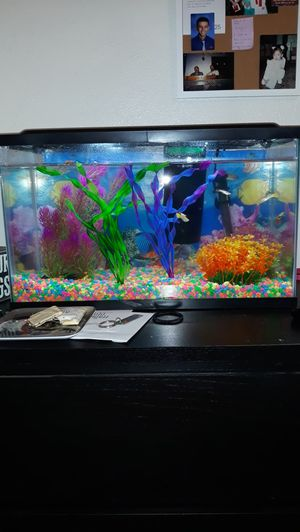 Like new 10 gallon fish tank for Sale in Colton, CA