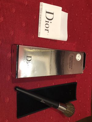Dior Makeup Brush Brand New with box and case for Sale in Cambridge, MA