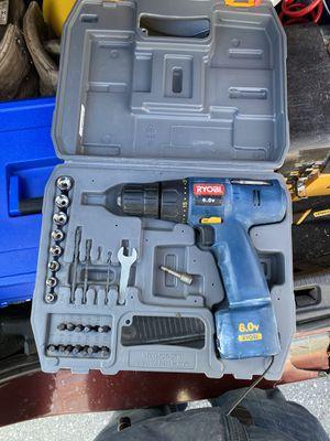 ryobi 6.0V drill for Sale in Burlington, MA