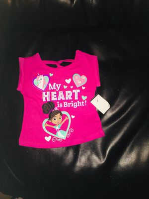 Baby Girls My Heart is Bright Top (Size 3-6 months) for Sale in Chicago, IL