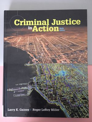 Criminal Justice in Action | 9th Edition for Sale in Las Vegas, NV