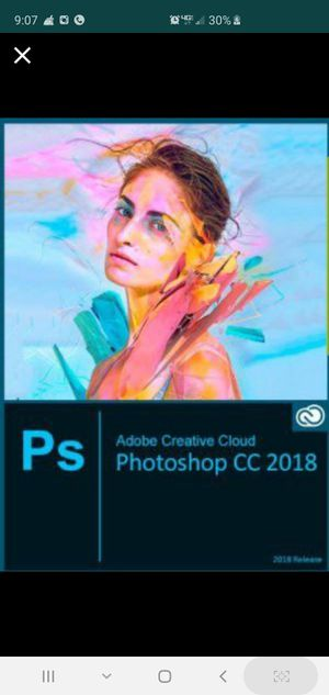 Adobe PHOTOSHOP CC 2018 for Windows - NO SUBSCRIPTION FEES NECESSARY! EVER! for Sale in Toledo, OH