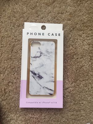 Marble phone case for iPhone 6/7/8 for Sale in Tampa, FL