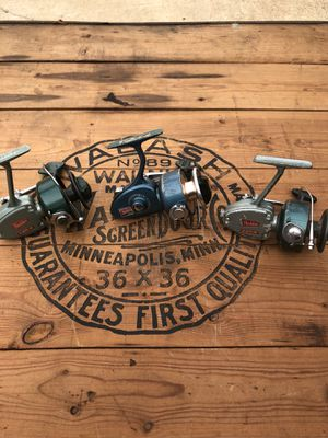 3 Heddon Open face fishing reel's for Sale in Raleigh, NC