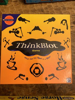Board Game! Think Blot for Sale in Sacramento, CA