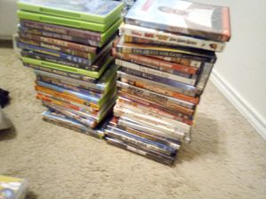 50 dvds for Sale in Cypress, TX