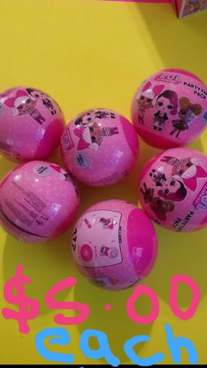 Party supplies LOL surprise party favor ball (1) for Sale in Fontana, CA