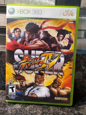 Xbox 360 Super Street Fighter Game for Sale in Egg Harbor Township, NJ