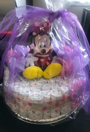 Diaper cake/Minnie for Sale in Santa Clara, CA