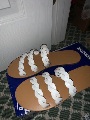 White Twist Sandals for Sale in Vienna, VA