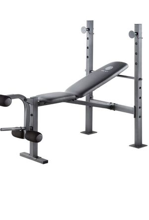 Weider XR 6.1 Multi-Position Weight Bench with Leg Developer and Exercise Chart Bench Press for Sale in City of Industry, CA