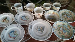 Beatrix Potter Wedgewood dishes for Sale in Lehigh Acres, FL