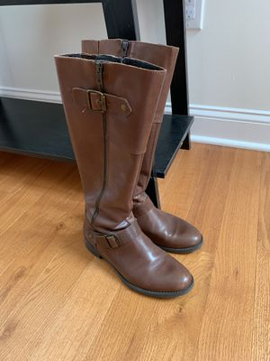 Brown Leather Boots Aldo for Sale in Feasterville-Trevose, PA