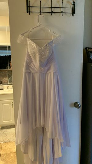 White wedding/occasion dress for Sale in Valrico, FL