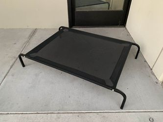 New in box L Large raised dog pet cot bed 45x30x8 inches tall for pets up to 90 lbs capacity elevated cuna de perro for Sale in South El Monte,  CA
