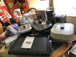 Kitchen wares NEW & USED for Sale in St. Petersburg, FL