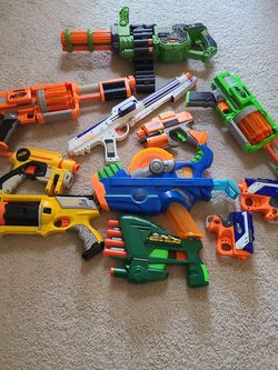 NERF GUN LOT for Sale in Maple Valley,  WA
