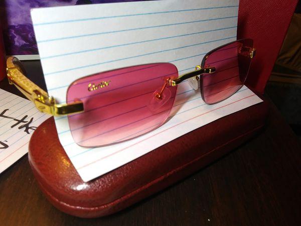 Pink Cartier frames$185 no less