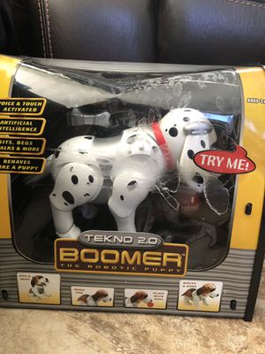 Talking newborn dog tekno. New for Sale in Riverside, CA