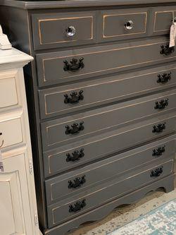 Refinished Gray Farmhouse Dresser for Sale in Bonney Lake,  WA