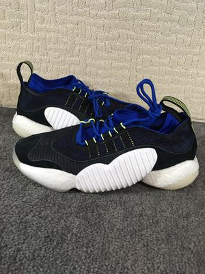 Adidas Crazy BYW II Men's Casual Sneakers BD7998 Core Black size 11 for Sale in Kissimmee, FL