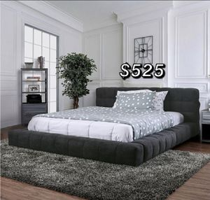 QUEEN BED FRAME AND MATTRESS INCLUDED for Sale in Inglewood, CA