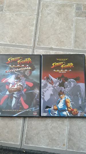 Street Fighter Alpha DVDs for Sale in Everett, MA