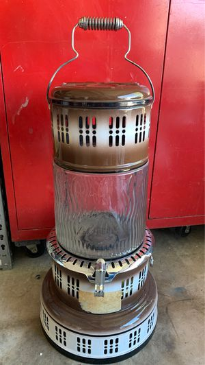Antique Perfection Stove Company glass kerosine heater for Sale in Peoria, AZ