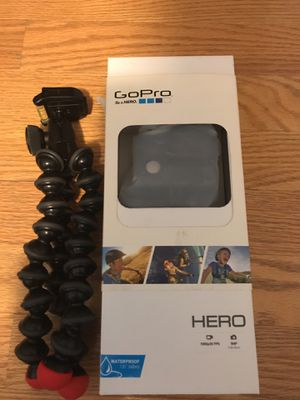 Go Pro With Tripod Case and charger! OFFER UP! for Sale in Washington, DC