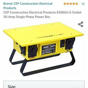 Construction Power Box for Sale in Renton, WA