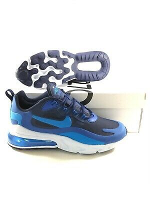Nike Air Max 270 React Mens Size 11 Running Shoes Blue Void White AO4971 400
