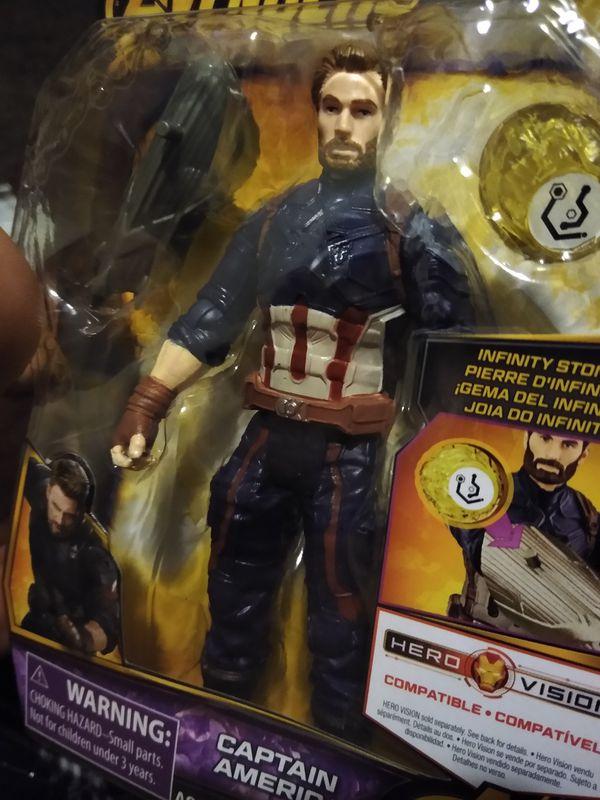 Avengers Captain America 6' action figure