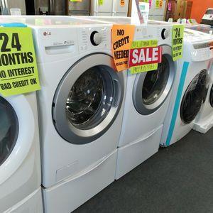Lg Washer Dryer Set - Ask For Sophia For Discount for Sale in San Bernardino, CA
