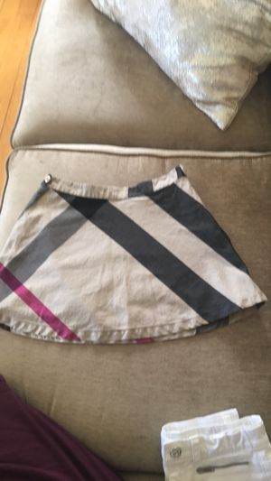Burberry skirt for a girl size 8 for Sale in Pasadena, CA
