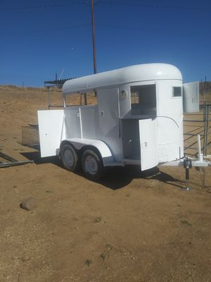 2 🐴HORSE/🐷🐐🐑LIVESTOCK TRAILER,HAULS NICE..BILL OF SALE ONLY for Sale in Palmdale, CA