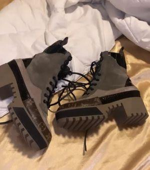 Louis Vuitton combat boots size 37 for Sale in Dallas, TX