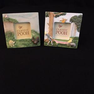 Disney Charpente Classic Winnie the Pooh Mini Frames for Sale in El Dorado Hills, CA